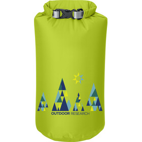 Outdoor Research Graphic Dry Sack Woodsy 10l Lemongrass